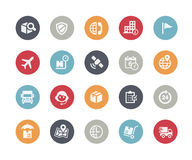 Shipping & Tracking Icons // Classics Series. Vector icons for your web or printing projects Stock Photos
