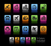 Shipping and Tracking Icons  Stock Photos