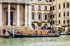 Shipping in Venice Stock Image