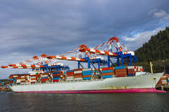 Shipping Vessels stock photo