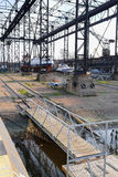 Shiprepair yard in Klaipeda Royalty Free Stock Image