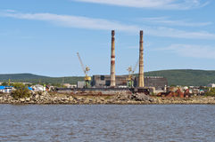 Shiprepairmentdock royaltyfria foton