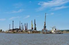 Shiprepairmentdock arkivfoton