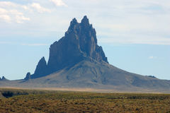 Shiprock Foto de Stock Royalty Free