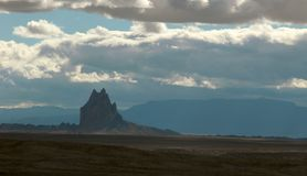 Shiprock Royalty Free Stock Images