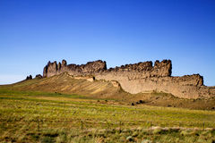 Shiprock area in New Mexico Royalty Free Stock Photography