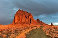 Shiprock - le Nouveau Mexique photo libre de droits