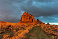 Shiprock - New Mexico Royalty Free Stock Images