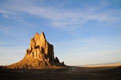 Shiprock, New Mexiko Lizenzfreie Stockbilder