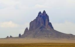 Shiprock, New Mexiko, auf der Navajo-Reservierung Lizenzfreie Stockfotografie