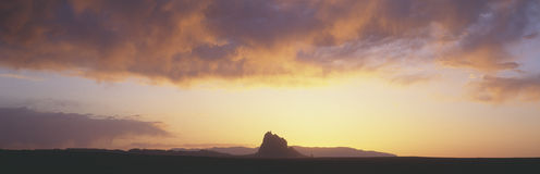 Shiprock Peak Royalty Free Stock Photo