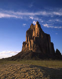 Shiprock (V). Shiprock located in northwest New Mexico royalty free stock photos