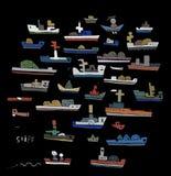 Ships Royalty Free Stock Photo