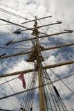 Ships. Scene in kiel port with ships Royalty Free Stock Photo