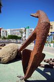 Ships anchor, Garrucha. Royalty Free Stock Photos