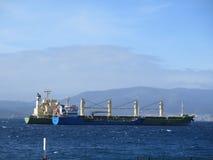 Ships at anchor Royalty Free Stock Photos