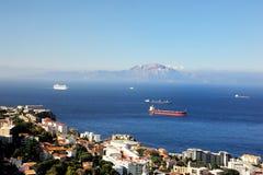 Ships at Anchor Royalty Free Stock Photography