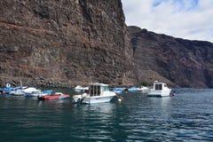 Ships bay , La Gomera Island Stock Image