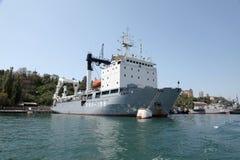 Ships of the Black Sea fleet Stock Photos