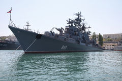 Ships of the Black Sea fleet Royalty Free Stock Images