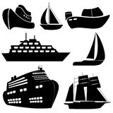 Ships and boats Stock Photo