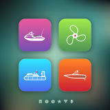 Ships and boats Royalty Free Stock Photo