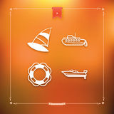Ships and boats Royalty Free Stock Photography