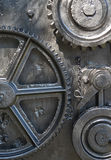 Ships Cogs Gears. Cogs and gears of the mechanism used to lower the anchor in a merchant ship Royalty Free Stock Photography