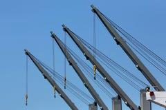 Ships Cranes Stock Photos