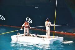 Ships crew Stock Photo