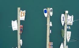 Ships docked at the port qingdao china Royalty Free Stock Photos