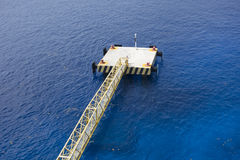 Ships docking lines and jetty Stock Photos