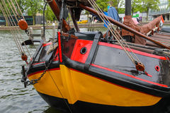 Ships - exhibits the Netherlands Maritime Museum in Amsterdam Royalty Free Stock Photography