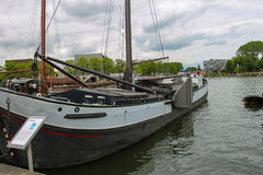 Ships - exhibits the Netherlands Maritime Museum in Amsterdam Royalty Free Stock Image
