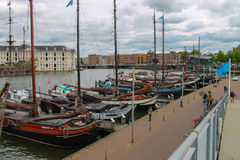 Ships - exhibits the Netherlands Maritime Museum in Amsterdam Stock Photography