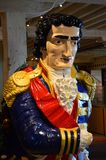 Ships figureheads at chatham. Historic Dockyard Kent royalty free stock photo