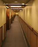 Ships Hallway Stock Photography