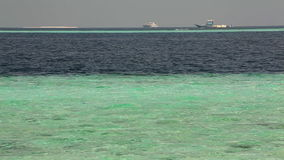 Ships in the high sea, Maldives. The ships in the high sea, Maldives stock video footage