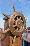 Ships hjul Royaltyfri Bild