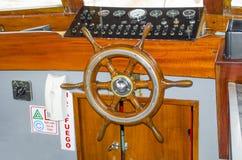 Ships hjul Arkivfoto