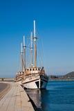 Ships at Lefkada Stock Photos