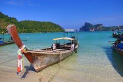 Ships, Loh Dalum Bay, Phi Phi, Thailand Royalty Free Stock Photo