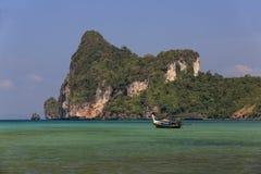 Ships, Loh Dalum Bay, Phi Phi, Thailand Royalty Free Stock Image