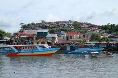 Ships in Manado Royalty Free Stock Photography