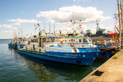Ships Maritime Office Gdynia Stock Photography