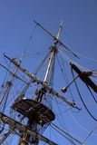Ships Mast Stock Photography