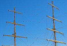 The ships mast Stock Image
