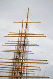Ships Masts Royalty Free Stock Photos