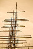 Ships Masts Stock Image