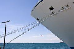Ships moorings Royalty Free Stock Images